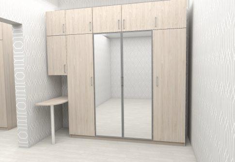 Шкаф распашной 2
