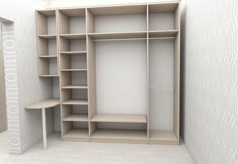 Шкаф распашной 3